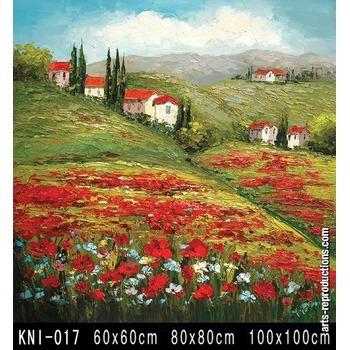 oeuvre d art peinture kni 017 tableau tableaux paysages. Black Bedroom Furniture Sets. Home Design Ideas