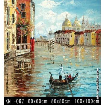 Copie tableaux contemporains kni 067 tableau tableaux - Tableaux tryptiques contemporains ...