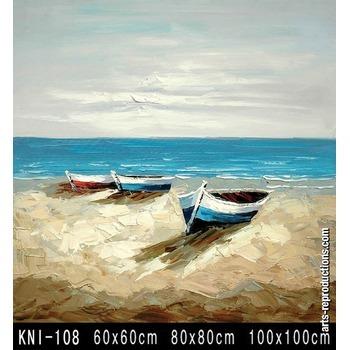 tableau contemporain pas cher kni 108 tableau tableaux paysages mer arts reproductions peinture. Black Bedroom Furniture Sets. Home Design Ideas