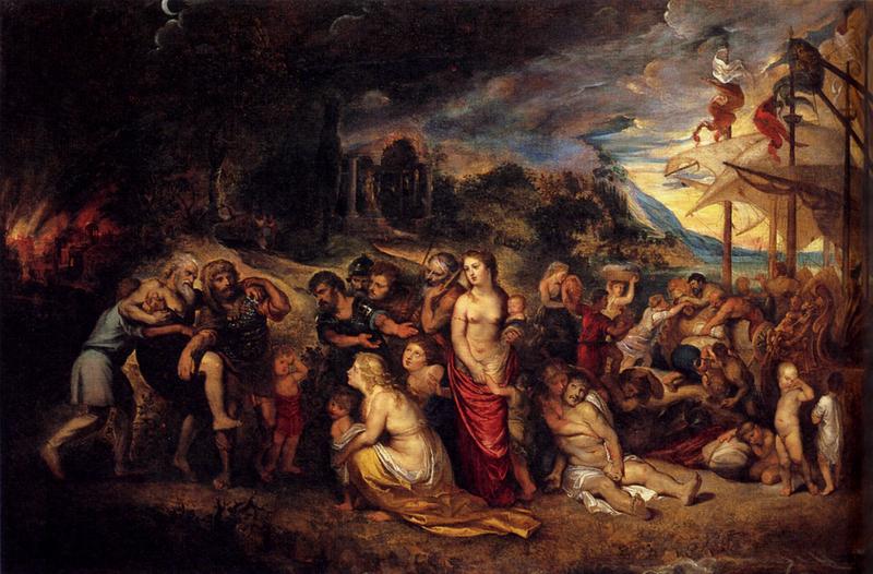 Reproduction peinture de maitre cav058 tableau baroque - Tableau de maitre reproduction ...