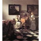 Reproduction oeuvre Vermeer24
