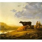 Toile artiste Cuyp024