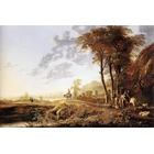 Reproduction tableau toile Cuyp007