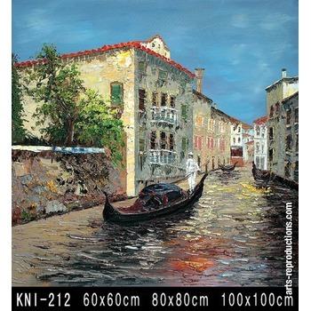 vente tableaux art kni 212 tableau tableaux paysages mer arts reproductions peinture l huile. Black Bedroom Furniture Sets. Home Design Ideas