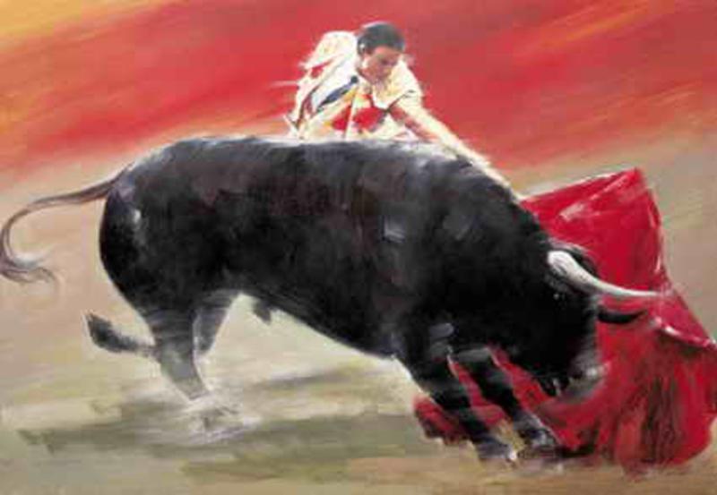 Reproduction sur toile pas cher cowboy 8 tableau tableaux - Materiel de peinture artistique pas cher ...