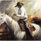 Reproduction de tableau Cowboy 9