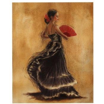 tableau peint danseuse 15 tableau tableaux danseuses arts. Black Bedroom Furniture Sets. Home Design Ideas