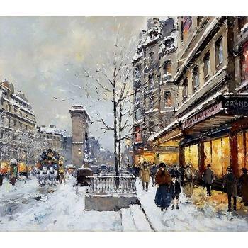 Vente tableau peinture paris 2 tableau tableaux paysages villes arts reproductions peinture l - Magasin reproduction tableau paris ...