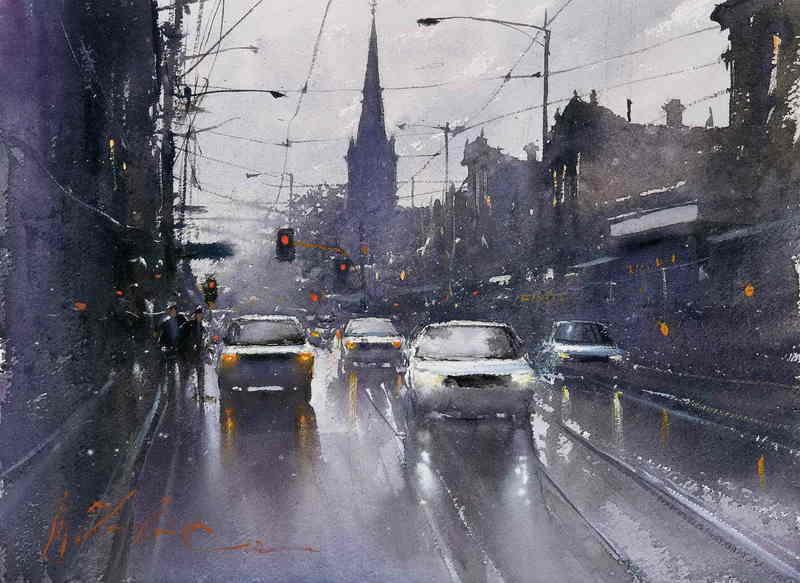 Reproduction peinture paris 5 tableau tableaux paysages villes arts reproductions peinture l - Magasin reproduction tableau paris ...