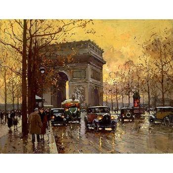 Vente reproduction peinture paris 10 tableau tableaux paysages villes arts reproductions - Magasin reproduction tableau paris ...
