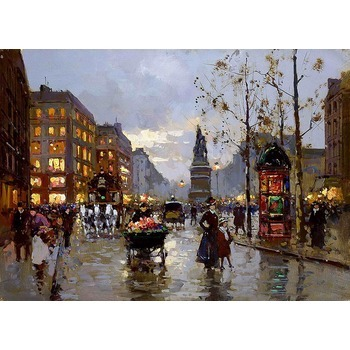 Reproduction tableaux peinture paris 15 tableau tableaux paysages villes arts reproductions - Magasin reproduction tableau paris ...