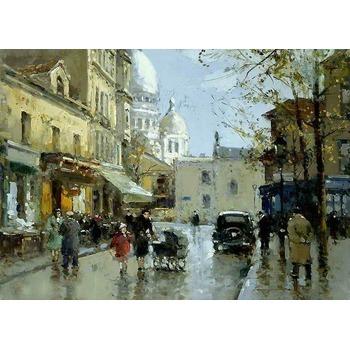 Vente tableau reproduction paris 18 tableau tableaux paysages villes arts reproductions - Magasin reproduction tableau paris ...