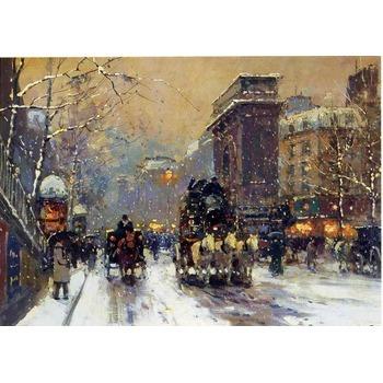 Peinture copie paris 19 tableau tableaux paysages villes arts reproductions peinture l huile - Magasin reproduction tableau paris ...