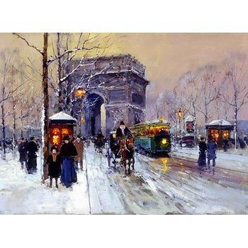 Vente copie tableau paris 20 tableau tableaux paysages villes arts reproductions peinture l - Magasin reproduction tableau paris ...
