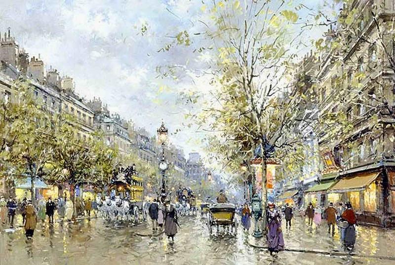 Vente reproduction peinture paris 10 tableau tableaux ville arts reproductions peinture l - Magasin reproduction tableau paris ...