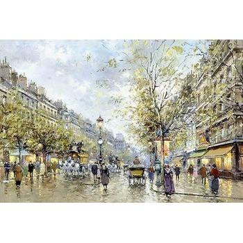 Tableau peints paris 21 tableau tableaux paysages villes arts reproductions peinture l huile - Magasin reproduction tableau paris ...