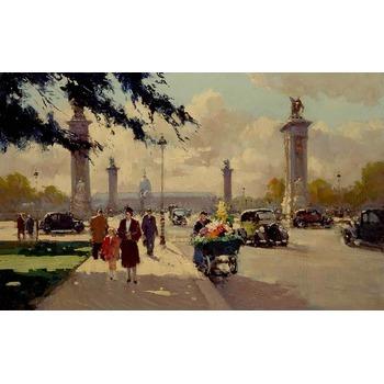 Reproduction de tableaux sur toile paris 22 tableau tableaux paysages villes arts reproductions - Magasin reproduction tableau paris ...