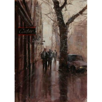 Toile en peinture paris 24 tableau tableaux paysages villes arts reproductions peinture l - Magasin reproduction tableau paris ...