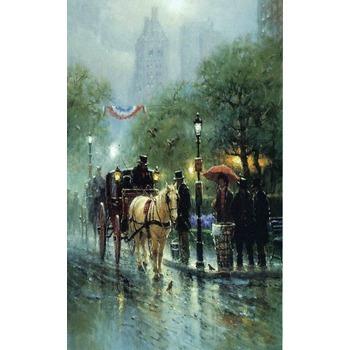 Tableau paris 25 tableau tableaux paysages villes arts reproductions peinture l huile sur - Magasin reproduction tableau paris ...