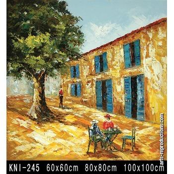 peinture tableau abstrait kni 245 tableau tableaux paysages arts reproductions peinture l. Black Bedroom Furniture Sets. Home Design Ideas