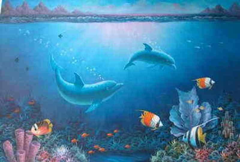 Reproduction tableau ballet de dauphins 9 tableau tableaux for Reproduction de tableaux modernes