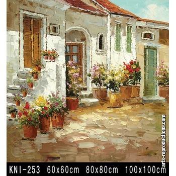 Peinture tableau moderne kni 253 tableau tableaux paysages for Reproduction de tableaux modernes