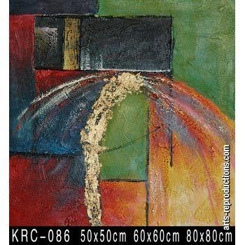 tableaux art krc 086 tableau tableaux abstraits arts reproductions peinture l huile sur toile. Black Bedroom Furniture Sets. Home Design Ideas