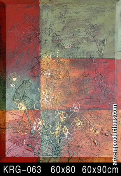 Tableau design contemporain KRG-063
