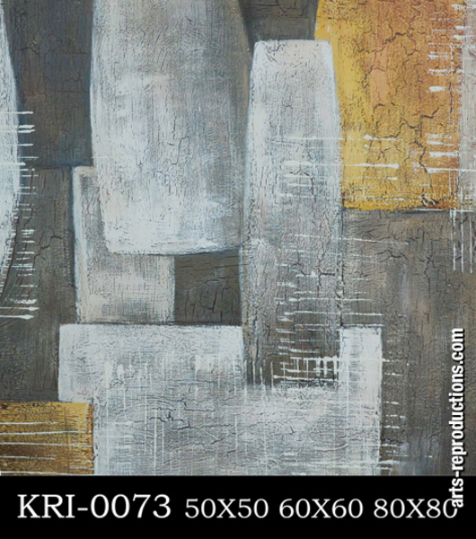 Reproduction art contemporain KRI-0073
