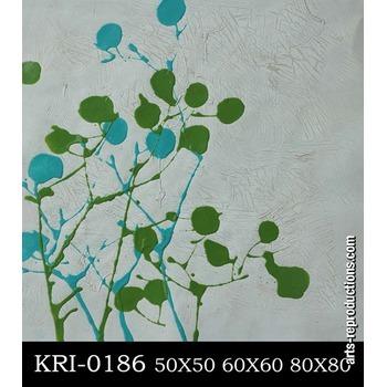 reproduction tableau abstrait kri 0186 tableau tableaux fleurs arts reproductions peinture l. Black Bedroom Furniture Sets. Home Design Ideas