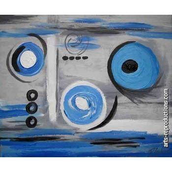 tableau art contemporain pas cher ciabstractab105 tableau tableaux abstraits arts reproductions. Black Bedroom Furniture Sets. Home Design Ideas