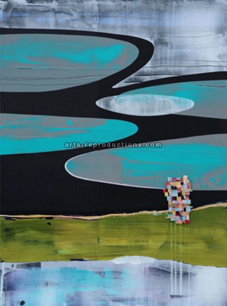 peinture abstrait contemporain ly07abstract153 tableau. Black Bedroom Furniture Sets. Home Design Ideas