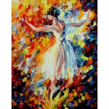 tableau peinture danseuse