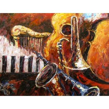 tableau peinture l huile musique musiciens 42 tableau tableaux musique arts reproductions. Black Bedroom Furniture Sets. Home Design Ideas
