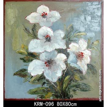 tableau sur mesure krm 096 tableau tableaux fleurs arts reproductions peinture l huile sur. Black Bedroom Furniture Sets. Home Design Ideas