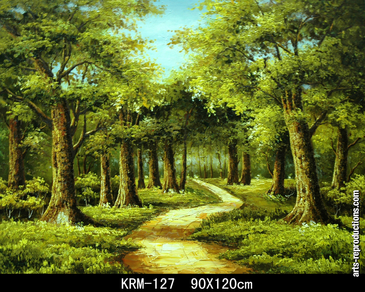 Reproduction tableau KRM127 tableau Tableaux Nature