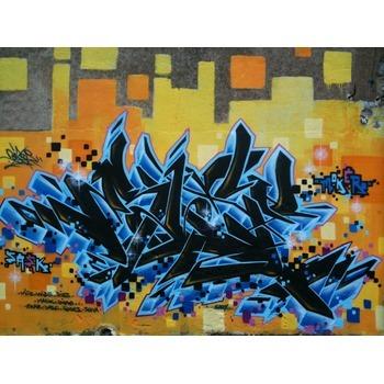 Tableau Peinture à l'huile urbain Graffiti
