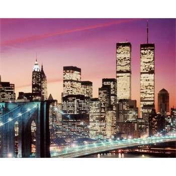 Tableau Peinture à l'huile Ville New York