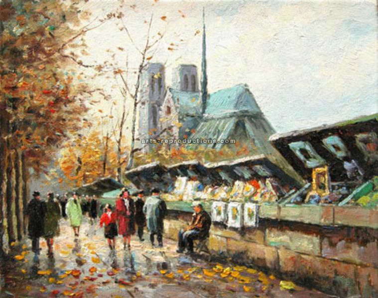 Tableau peinture a l huile paris 13 tableau tableaux - Magasin reproduction tableau paris ...