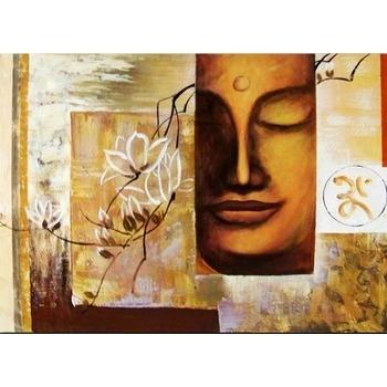 Tableau Peinture à l'huile Bouddha Zen 8