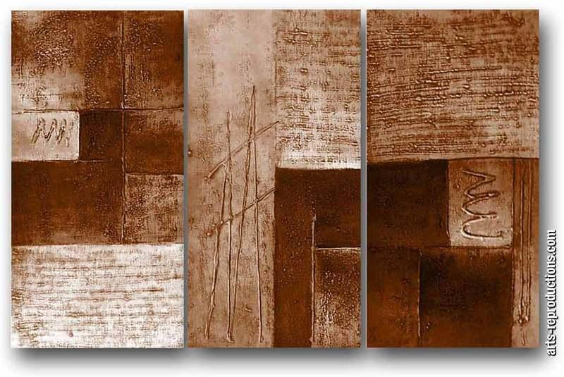 tableau tryptique contemporain lu77 tableau tableaux multicadres arts reproductions peinture. Black Bedroom Furniture Sets. Home Design Ideas