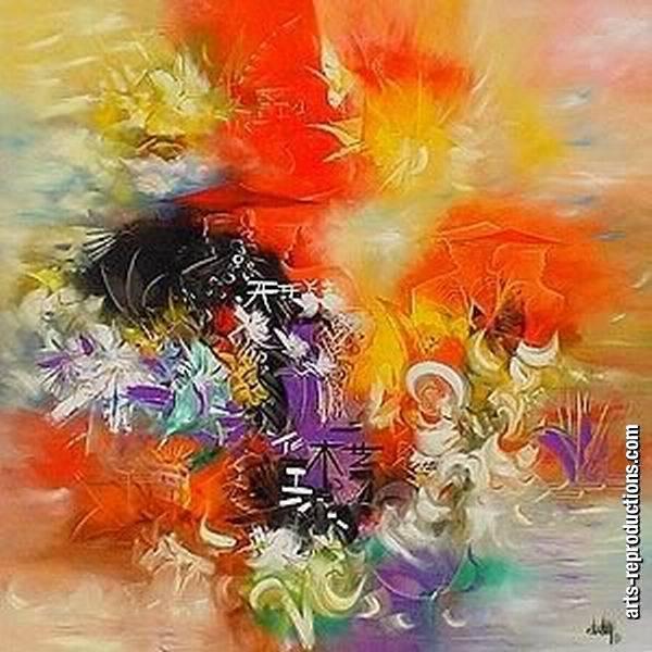 Vente copies tableaux krf 052 tableau tableaux abstraits - Vente tableaux peinture a l huile ...