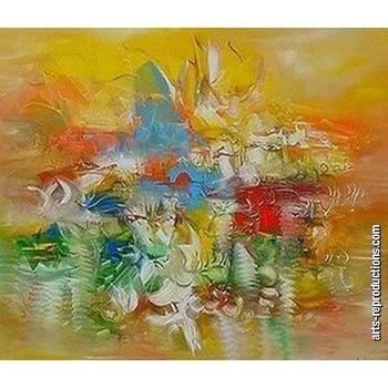 Vente reproductions peintures ly07abstract015 tableau - Vente tableaux peinture a l huile ...