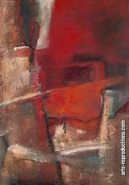 Tableau peinture contemporaine LY07abstract212