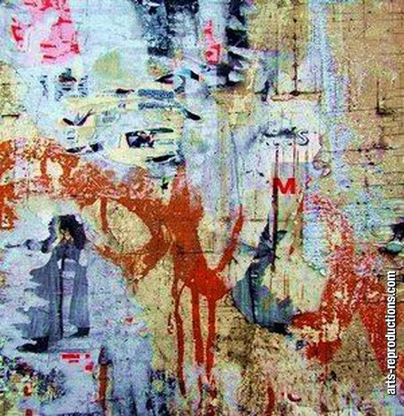 Toile peintre LY07abstract312