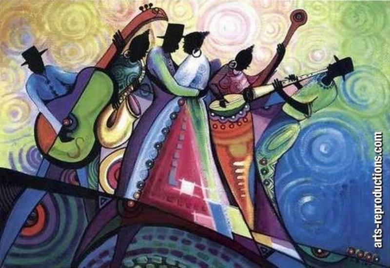 Reproduction Tableau Musicien 4 Tableau Tableaux Music