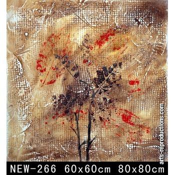 reproduction tableaux  abstraits peinture relief sur toile new