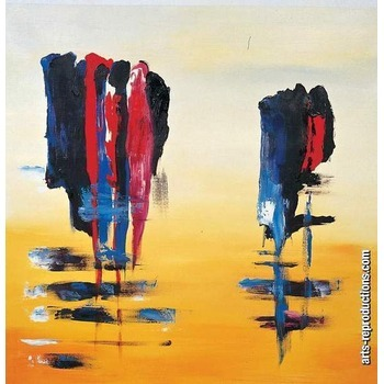 reproduction tableau contemporain riabstract008 tableau tableaux abstraits arts reproductions