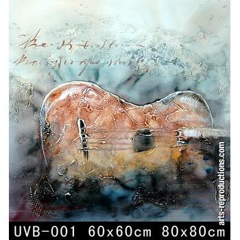 vente tableaux art contemporain uvb 001 tableau tableaux musique arts reproductions peinture. Black Bedroom Furniture Sets. Home Design Ideas