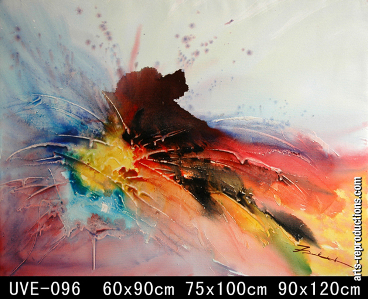 copie tableau art uve 096 tableau tableaux abstraits arts reproductions peinture l huile sur. Black Bedroom Furniture Sets. Home Design Ideas